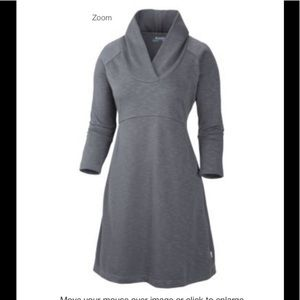 Columbia Wear It Everywhere Dress Size S Gray